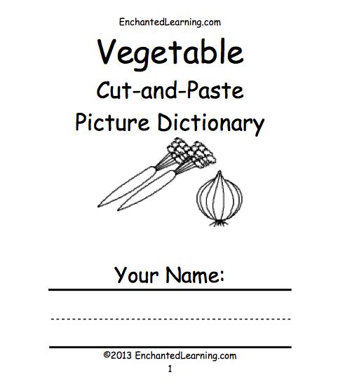 Fruits and Vegetables at EnchantedLearning.com