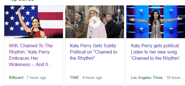 1 Trending Katy Perry - Chained To The Rhythm - Illuminati