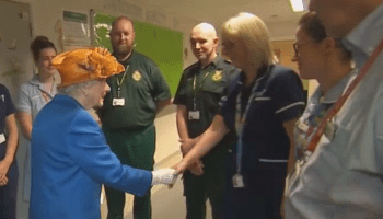 Queen Of Freemason Handshakes Visits Manchester Bombing Crisis Actors