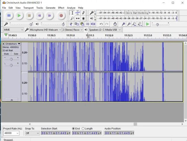 Christchurch Shootings Audio Enhanced