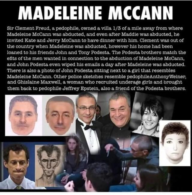 Ghislaine Maxwell's Madeleine McCann Suspect E-Fit Connection