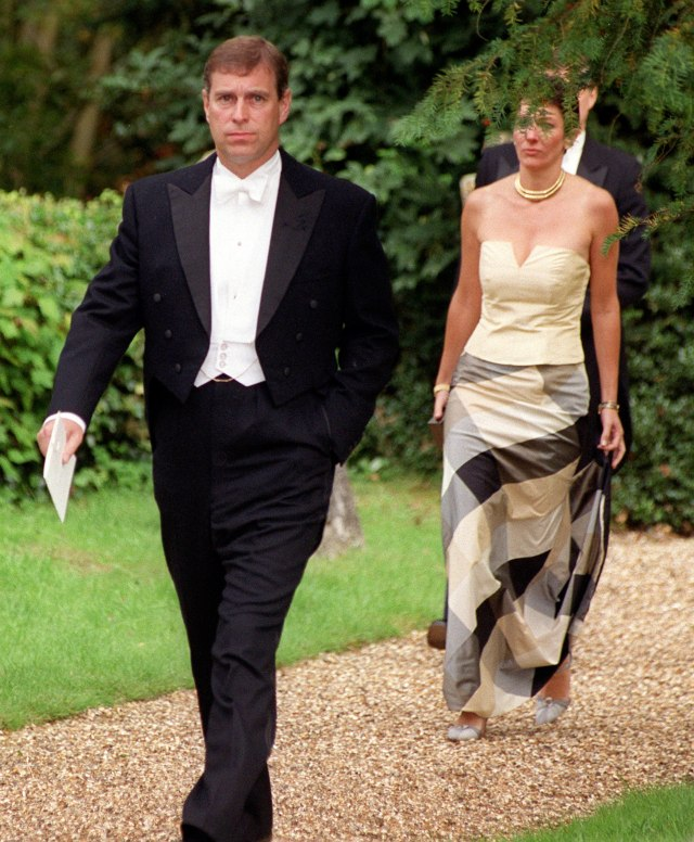 PRINCE ANDREW WITH GHISLAINE MAXWELL