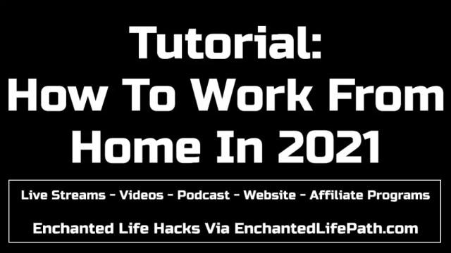 Live Streams - Videos - Podcast - Website - Affiliate Programs