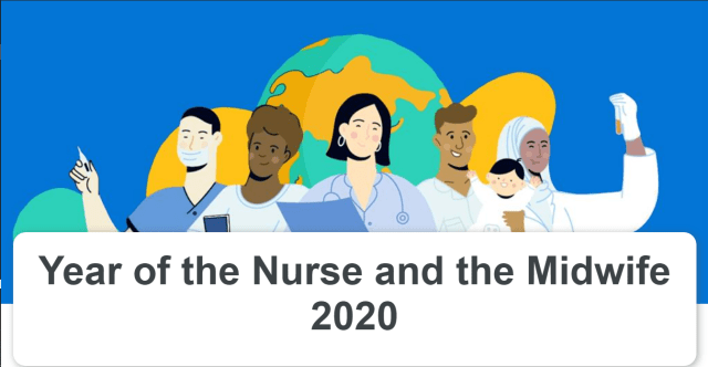 WHO year of the nurse and midwife dances on Tik Tok