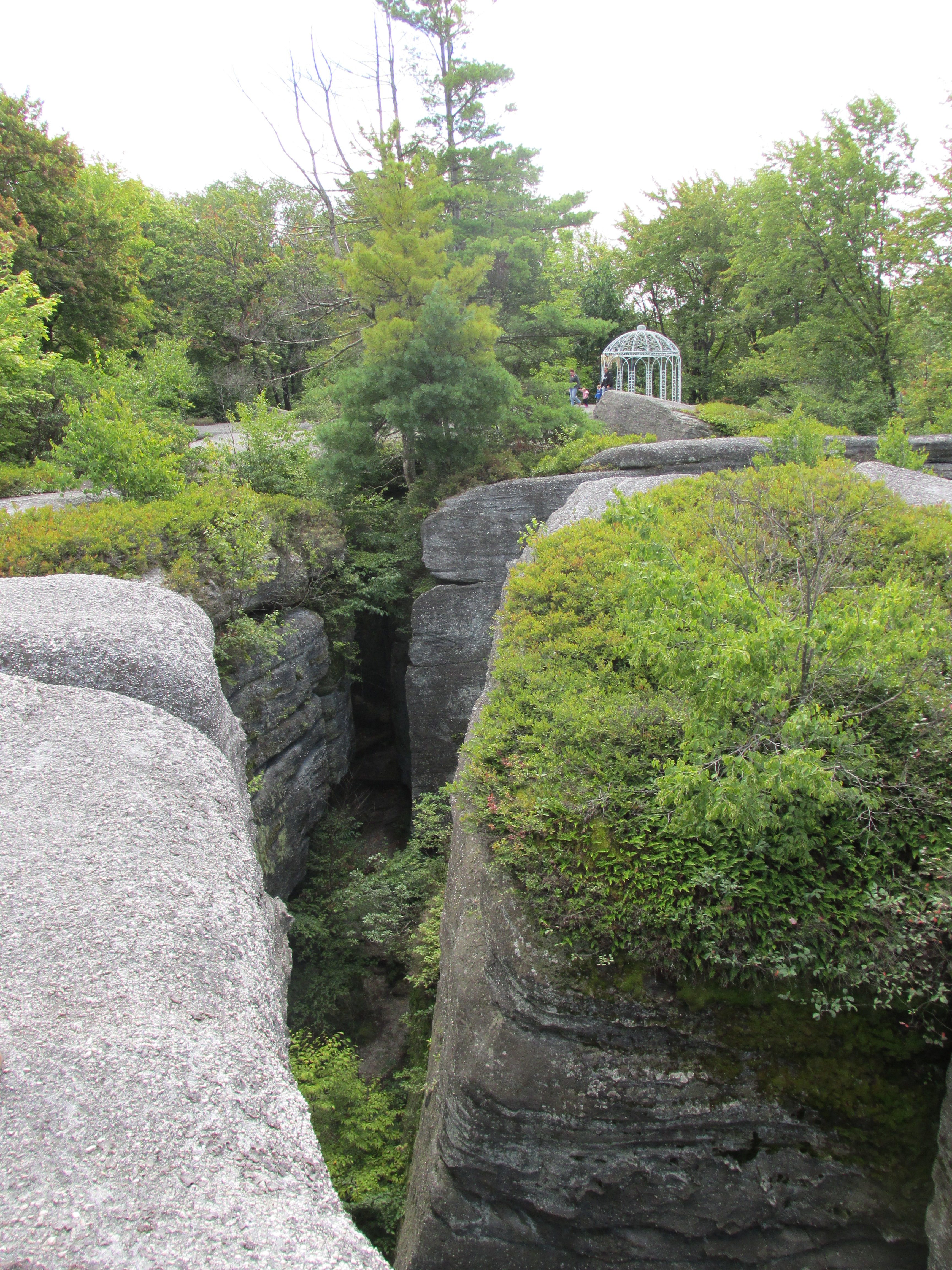 Rock City Park in Olean  Enchanted Mountains of