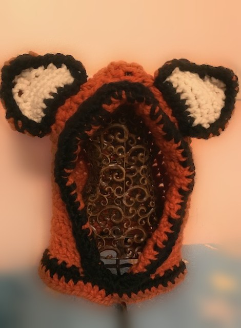 Fox-Style Hooded Cowl