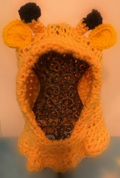 Giraffe Hooded Cowl