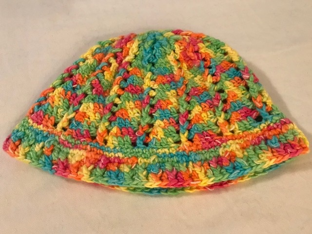 Multi-Color Cloche Hat