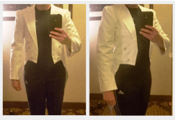 Source: [@phantomonabudget, Tumblr] Third mockup of tailcoat.