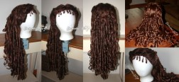 "Christine Daae Replica Wig: A long style in ""Spanish Brown"", probably my favorite color for Christine's wigs."