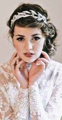 2014 Bridal hair Trend alert  Vintage head pieces ...