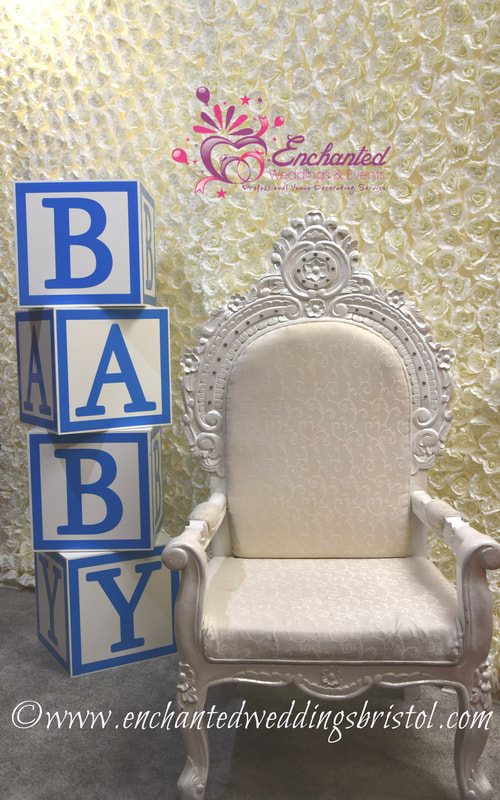 Big White Chair For Baby Shower : white, chair, shower, Enchanted, Weddings