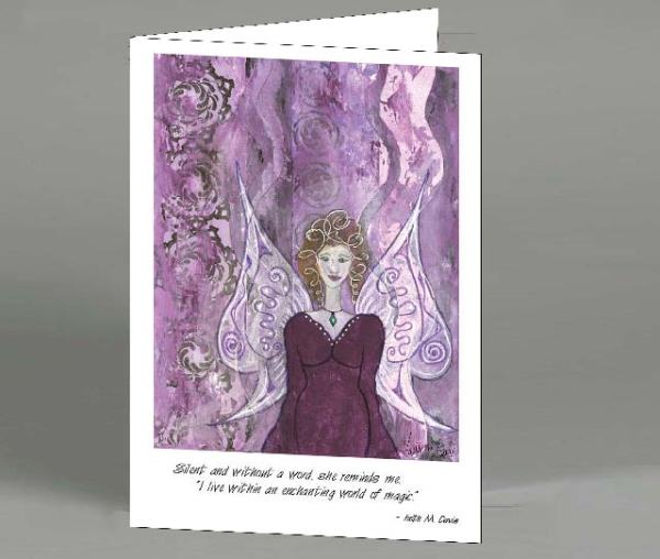 Fairy Enchanted Note Card