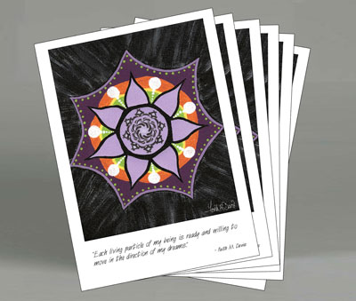Note Card Packs - Mandala