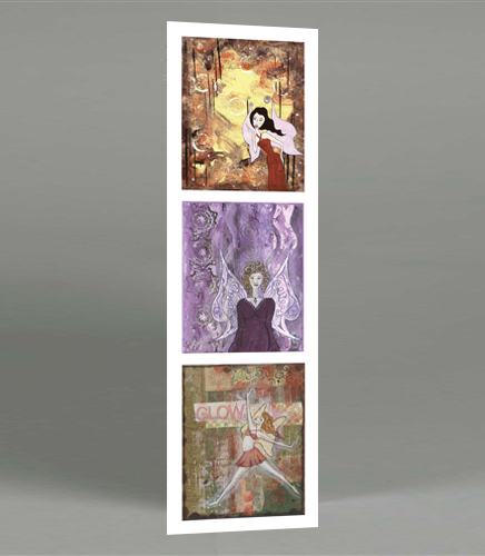 Three Fairies Bookmark