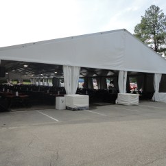 Chair Cover Rentals Memphis Metal Glider Clearspan Tent Enchanting Events