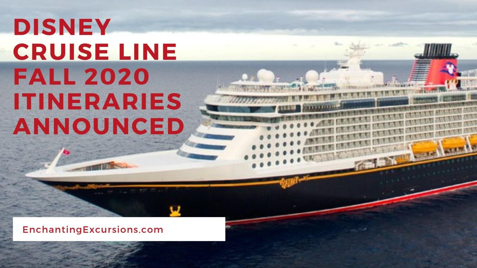 Disney Cruise 2020.Disney Cruise Line Announces Fall 2020 Itineraries