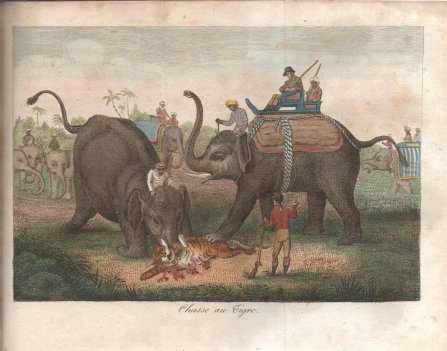 489. PANNELIER. L'Hindoustan. 1816. Chasse