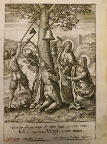 92. [ESTAMPES]. Recueil composite de 220 figures gravées sur cuivre. XVIIe siècle.