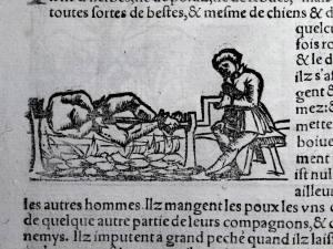 145. MÜNSTER. La cosmographie universelle. [Bâle, Henry Pierre, 1556]. Rôtisserie