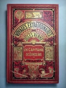 342. VERNE. Voyages extraordinaires. Un capitaine de quinze ans.
