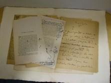 326. MAURRAS. Manuscrit autographe.