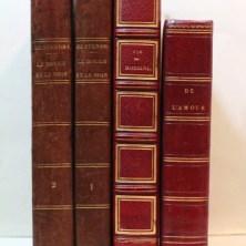 284. 287. 288. STENDHAL. Trois éditions originales.