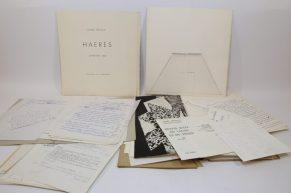 Bibliothèque André Frénaud. 39. HAERES