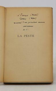 Bibliothèque André Frénaud. 7. CAMUS envoi