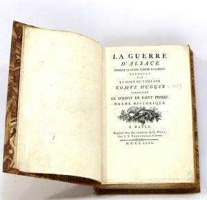 121. [RAMOND DE CARBONNIÈRES]. La Guerre d'Alsace pendant le grand schisme d'Occident.