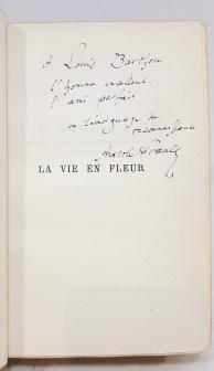 161. FRANCE (Anatole). La Vie en eur. Paris, Calmann-Lévy, 1922.