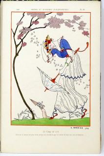 366. [BARBIER].- RÉGNIER. Modes et manières d'aujourd'hui. (3e année). Paris, Meynial, 1914.