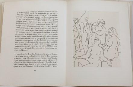 547. PETRONE. Le Satyricon. Paris, aux dépens d'un Amateur [Ambroise Volard, Georges Leblanc], 1951