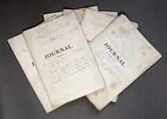 252. [MARINE]. Journal de bord du Colosse