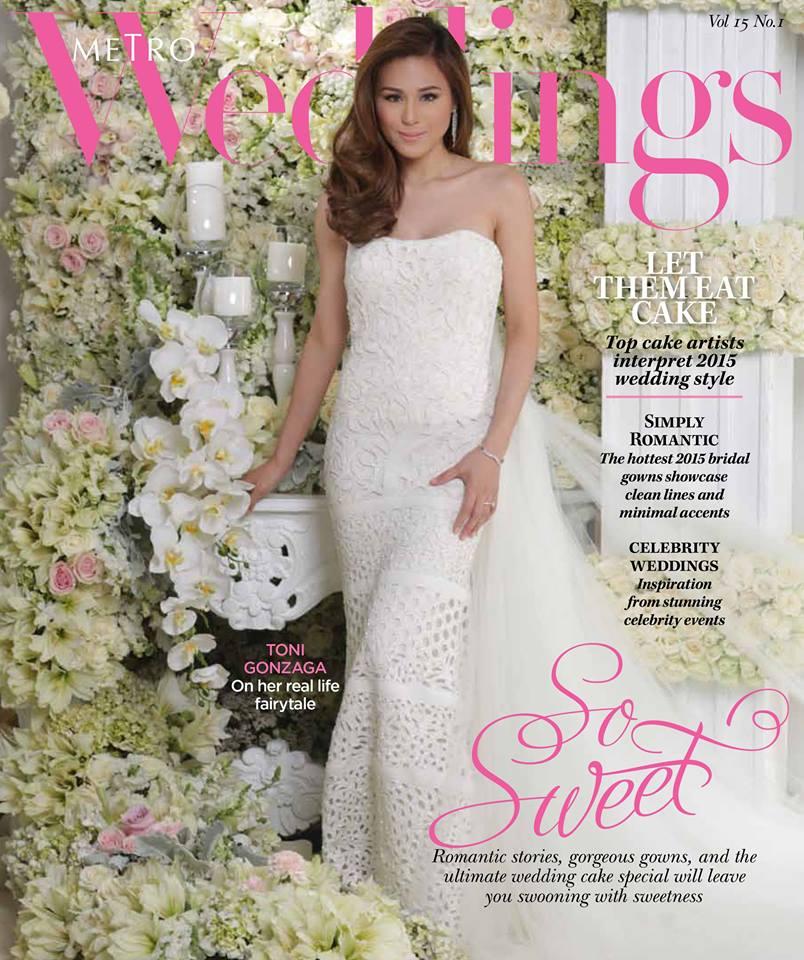 Toni Gonzaga On Metro Weddings