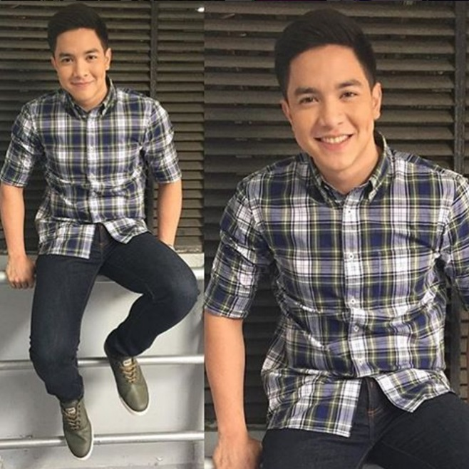 Alden Richards OOTD