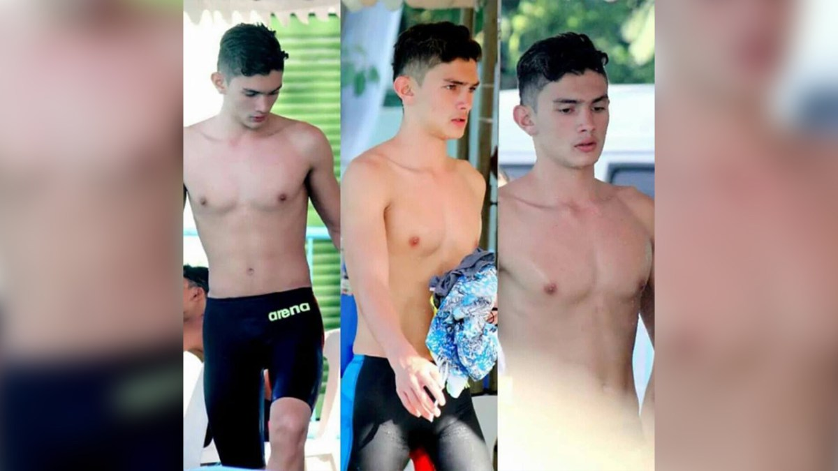 Who is Dyrham Palfrey? Pambansang Hottie Swimmer of Palarong Pambansa 2016