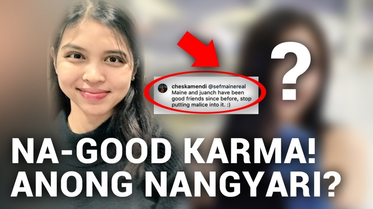 Good Karma for Maine Mendoza