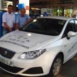 repostando carburante, Ibiza ecomotiva
