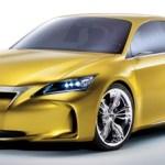 Lexus LF-Ch render frontal