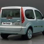Imagen del portón trasero de la Renault Kangoo Be Bop ZE eléctrica