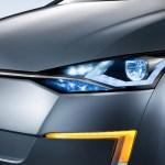 Imagen del frontal, del Volkswagen Up! Lite Concept