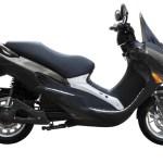 Imagen lateral del scooter eléctrico de arngren el B4000 Litio