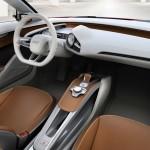 Interiores del Audi e-tron