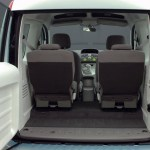 Imagen del maletero de la Renault Kangoo Be Bop ZE