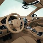 Detalles del interior del Porsche Cayenne S Hybrid