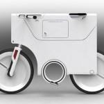 imagen lateral del concepto ebiq de bicicletas electricas