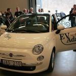 Exposicion del Fiat 500 eléctrico de Micro-Vett