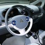 Imagen del interior del i-Miev.