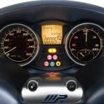 Imagen del panel de control de la Piaggio MP3 Hybrid